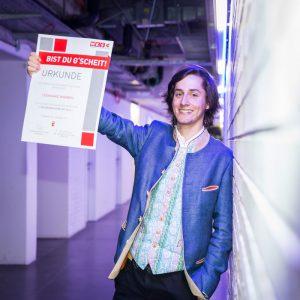 Leonhard Wimmer ist Lehrling des Jahres 2016