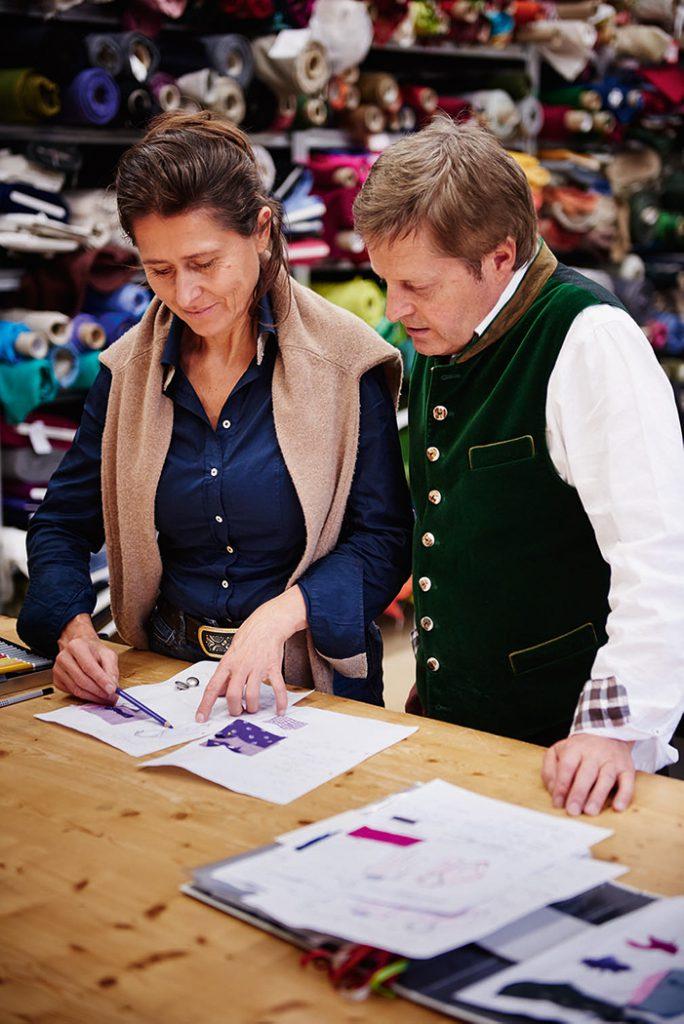 Stefan und Monika Wimmer in der Werkstatt
